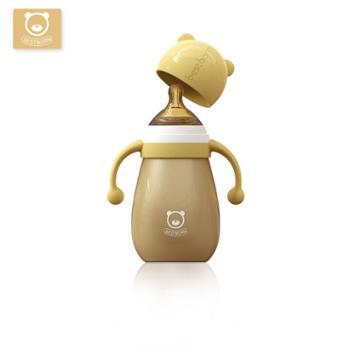 Bestborn/贝适邦宝宝保温奶瓶婴儿不锈钢奶瓶儿童防摔防胀气夜奶奶壶