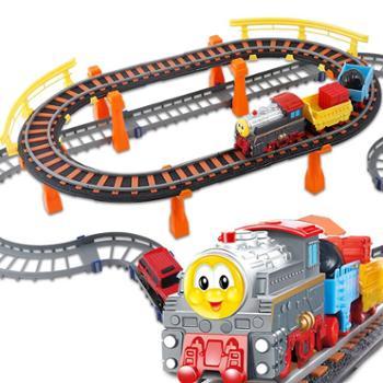 BBS/宝贝星 小火车轨道 电动遥控轨道赛车儿童玩具轨道车3岁男孩