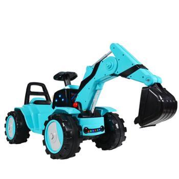 帝祥(母婴) 儿童电动挖掘机玩具车可坐可骑宝宝超大号男孩挖土机可遥控工程车