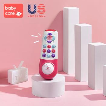 bcbabycare儿童手机玩具宝宝仿真座机男女孩0-1岁婴儿可咬音乐电话