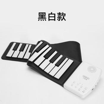beiens/贝恩施宝宝电子琴儿童手卷钢琴初学者专业0-1-3-6岁女孩音乐玩具
