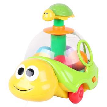 winfun/英纷小海龟宝宝拖拉学步拉线玩具音乐声光婴幼儿早教学步玩具