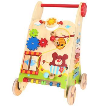 福孩儿多功能游戏手推车益智玩具婴儿童宝宝早教学步男女孩礼物