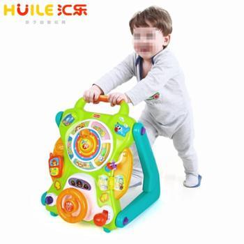 HUILETOYS/汇乐玩具学步车手推车玩具婴儿宝宝学步推车防侧翻助步车