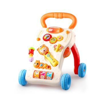 优乐恩宝宝学步推车防侧翻婴儿学走路助步6-18个月学步车手推游戏车玩具
