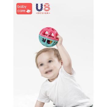 bc babycare 婴儿手抓球 宝宝抓握训练手摇铃抚触觉感知球类玩具