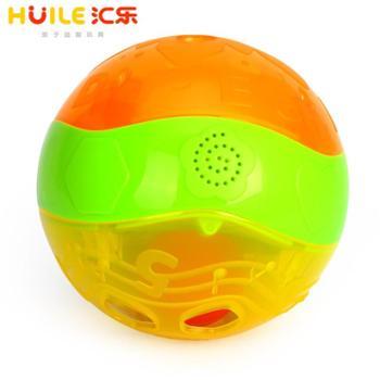 HUILE TOYS/汇乐玩具 智慧闪闪球婴幼儿益智灯光音乐学爬玩具健身手抓球