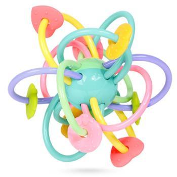 GOODWAY/谷雨 曼哈顿球牙胶婴儿玩具手抓球益智宝宝软胶球类