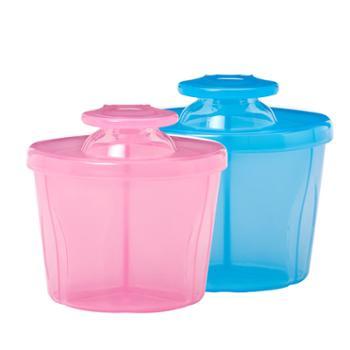 布朗博士奶粉盒 便携外出三格奶粉格 奶粉分装储存盒