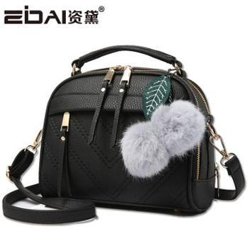 女士包包手提包简约时尚单肩包斜挎小包包流苏包