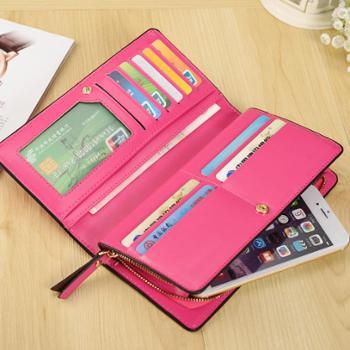 凯威卡恩钱包女士小包包新款多功能拉链手拿包长款女包选色请备注说明
