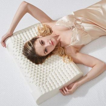 康行乳胶保健枕 KX-075 乳胶枕 枕头