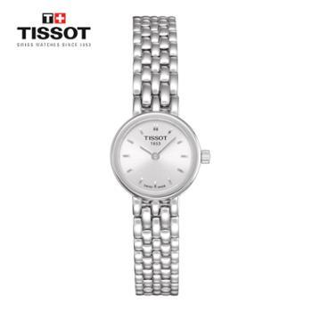 天梭TISSOT乐爱系列商务休闲时尚潮流钢带石英女士手表T058.009.11.031.00