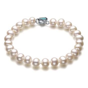 仙蒂瑞拉6.5-7.5mm淡水珍珠手链【附鉴定证书】送自己送闺蜜