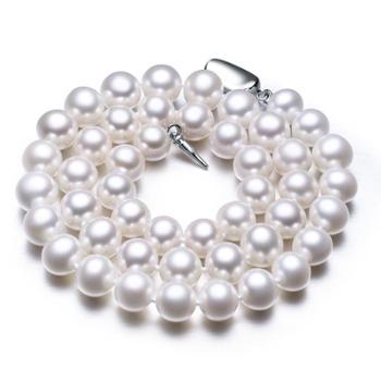 仙蒂瑞拉淡水珍珠项链正圆强光泽优雅百搭高品质送礼佳品