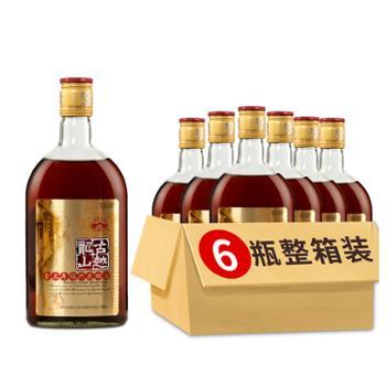 古越龙山金三年花雕酒500ml*6瓶