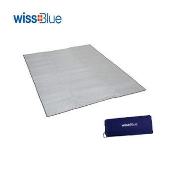 维仕蓝四人超大超轻防潮垫WA8054