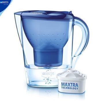 碧然德金典滤水壶3.5L蓝色单芯装Marella-XL-3.5L(送滤芯一个)