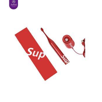 【荷兰艾优APIYOO】电动牙刷SUP成人声波红色S软毛防水充电式牙刷