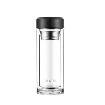苏泊尔 SUPOR 集茶耐热双层玻璃杯KC28CV10随机颜色