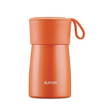 苏泊尔(SUPOR) 焖烧杯不锈钢真空KC50BA1 暖月橘 500ML