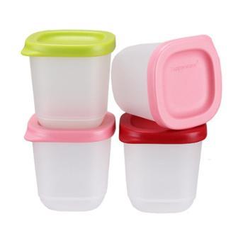 特百惠 小可爱110ml保鲜零食盒储藏盒4件套