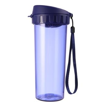 特百惠500ml茶韵水杯带茶隔密封防漏运动随心杯单个