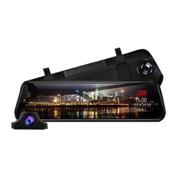 凌度HS880C行车记录仪高清夜视前后双录12寸流媒体倒车影像免安装双镜头