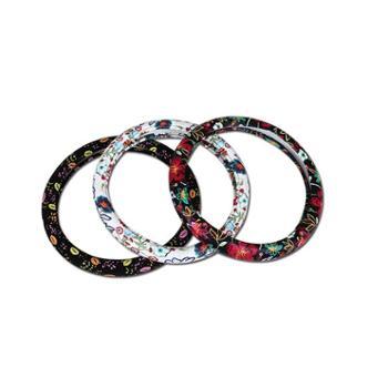 HY花语系列汽车方向盘套新款时尚运动把套汽车内饰用品饰品