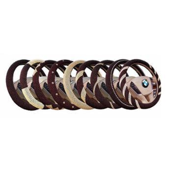 HY漩涡线木珠汽车方向盘套 透气个性新款把套子内饰用品饰品