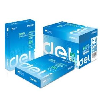 得力(deli)7402 莱茵河A4复印纸 8包/箱