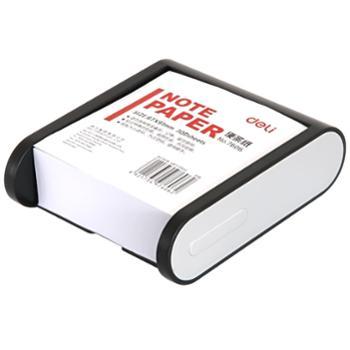 得力(deli)7606 便签纸/便条纸(带盒)(91×87mm)