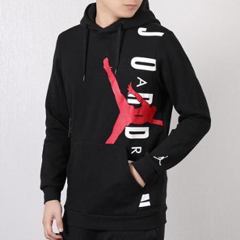 耐克男装AirJordan篮球运动服连帽套头衫卫衣CD5871-010W