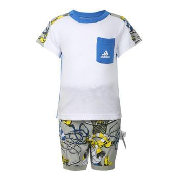 adidas阿迪达斯婴童ISTSUMSETB短袖套服DV1249
