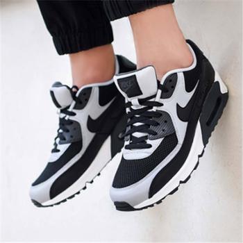 NIKE耐克男鞋AIRMAX90气垫透气运动鞋跑步鞋537384-053JY