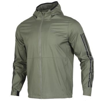 阿迪达斯adidas男子运动梭织夹克外套FM9434