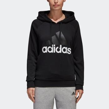 阿迪达斯adidas女装训练圆领套头卫衣S97081