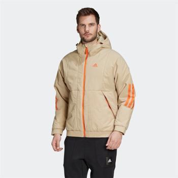 阿迪达斯adidas外套男装冬季户外运动保暖棉服FT2446
