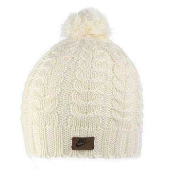 NIKE耐克女子保暖针织毛线帽休闲帽子CI3650-110