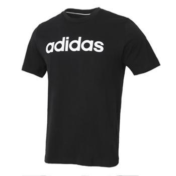 阿迪达斯adidasneo男装运动短袖T恤GP4887