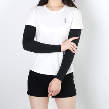 TOURMARK男女黑色冰丝防晒袖套1双装T36312