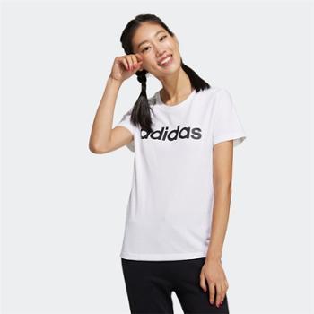 阿迪达斯adidas女子运动休闲短袖T恤GP7139