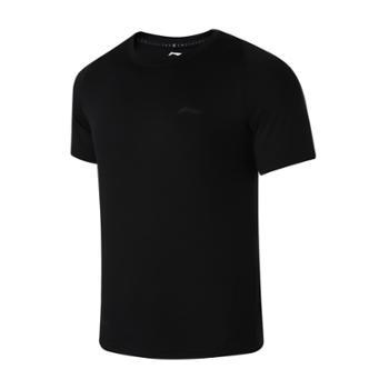 李宁男子运动训练短袖T恤ATSR369-1-2-3