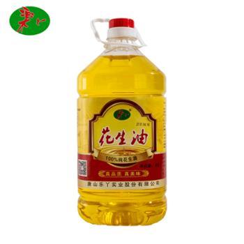 乐丫花生油4L