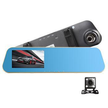 安尼泰科后视镜行车记录仪G20双镜头红外夜视1080P高清120度广角