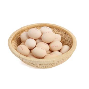 乐得翠(尊享)柴鸡蛋:32枚 农村散养柴柴鸡下的蛋