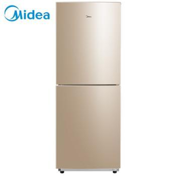 美的/Midea双门小冰箱家用小型保鲜自动控温节能静音省电冷藏冷冻BCD-172CM(E)