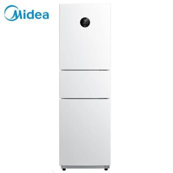 美的/Midea新风冷无霜家用小冰箱三门变频节能静音BCD-230WTPZM(E)