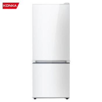 康佳/Konka节能保鲜静音双门家用小冰箱BCD-155C2GBU