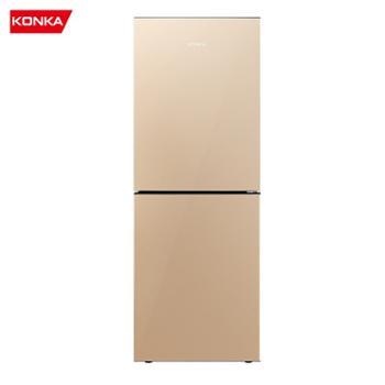 康佳/Konka风冷无霜双门小型迷你家用电冰箱BCD-178WEGX2S